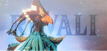 Botw Revali Zelda Link Legend Daruk Breath