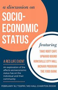 Employment Request Diversity Promotion Socioeconomic Status Truman State