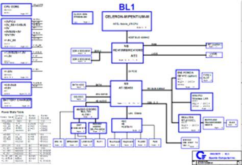 Toshiba Schematics Page Laptop Schematic