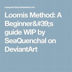 Loomis Method  A Beginner U0026 39 S Guide Wip By Seaquenchal On