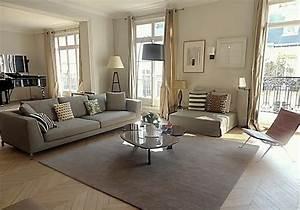 Decoration Salon Contemporain : interieur singulier appartement paris 16 ~ Teatrodelosmanantiales.com Idées de Décoration