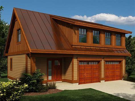 Two Car Garage Loft Plans Pinterest  House Plans #60666