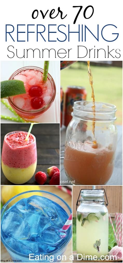 simple summer drink recipes quick and easy summer drink recipes