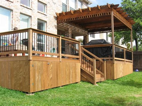 inexpensive deck skirting ideas pictures for decks in tx 78727