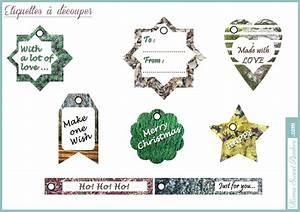 étiquettes De Noel à Imprimer : tiquettes de no l imprimer gratuit home sweet ambre ~ Melissatoandfro.com Idées de Décoration