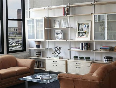 affordable wall system recommendation aluminum shelves