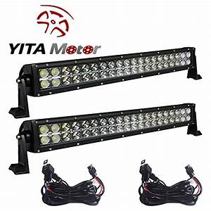 Yitamotor 2 X 120w 24 U2033 Inch Spot Flood Combo Work Led