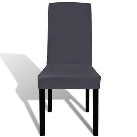 housse chaise extensible pas cher acheter vidaxl housse de chaise droite extensible 4 pcs