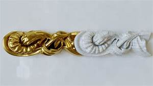 3d, Plaster, Trim, Ornament, With, All, Modifiers, For, Education