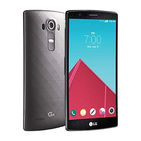 sprint new phones new lg g4 no contract phone for sprint metallic gray