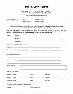 beauty indemnity form template invitation templates With indemnity waiver template