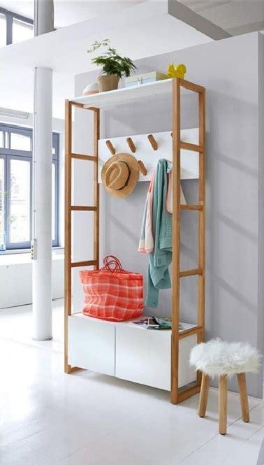 la redoute meuble chambre vestiaire blanc et bois rangement intérieur la redoute