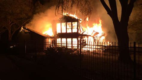 Johnny Manziel House - johnny manziel family member s lake house destroyed in
