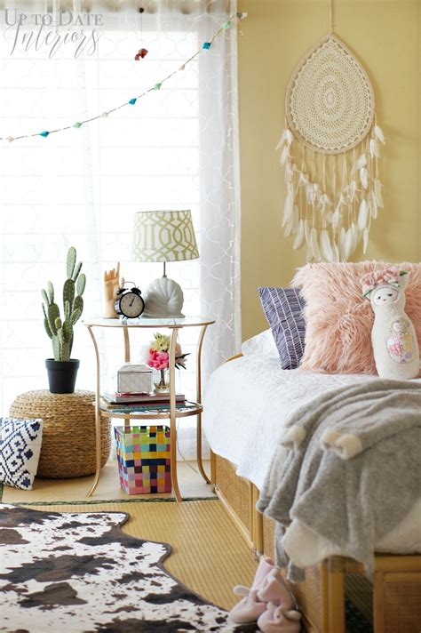 Bohemian Chic Bedroom by Global Bohemian Bedroom Makeover For A Up To Date
