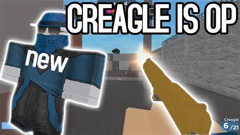 arsenal creagle gun  skin code roblox youtube