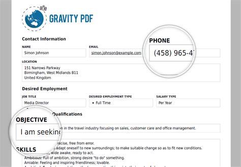 gravity form templates gravity pdf wordpress plugin wordpress org