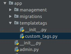 django create custom template tags can i access constants in settings py from templates in