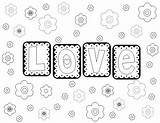 Coloring Letter Pages Letters Template Printable sketch template