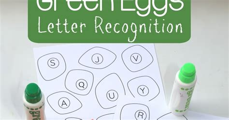 green eggs and ham letter recognition still school 319 | green eggs ham activities kids