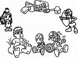 Coloring Pages Avengers Chibi Arcade Avenger Cartoon Quicksilver Babies Marvel Printable Coloringbay Getdrawings Getcolorings Sheets Games Fortnite sketch template