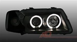Audi A3 Phase 2 : 2 feux phare avant angel eyes led audi a3 8l phase 1 de 08 ~ Medecine-chirurgie-esthetiques.com Avis de Voitures