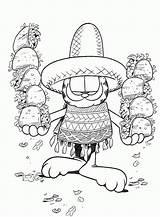 Garfield Hdwallpapeers sketch template