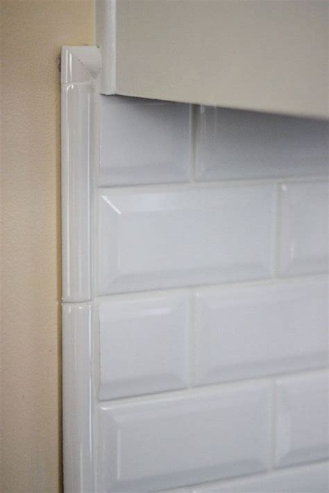 tile borders for kitchen backsplash beveled subway tile backsplash border kitchen space