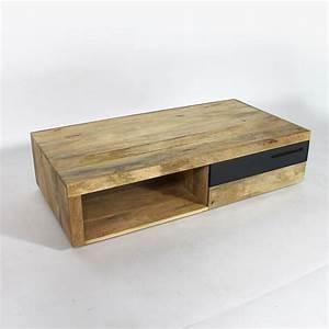 Table Basse Made Com : table basse en bois design 1 tiroir made in meubles ~ Melissatoandfro.com Idées de Décoration