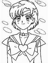 Coloring Pages Sailor Mercury Moon Saturn Sm Cartoons Library Clipart Popular Advertisement Coloringhome sketch template