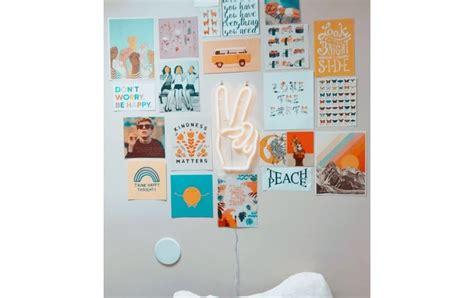 poster dinding kamar aesthetic shopee cara pasang poster