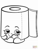 Toilet Paper Coloring Roll Shopkin Clipart Pages Shopkins Leafy Sweat Printable Potty Toliet Cartoon Colouring Sheets Drawings Supercoloring Toilets Tegninger sketch template