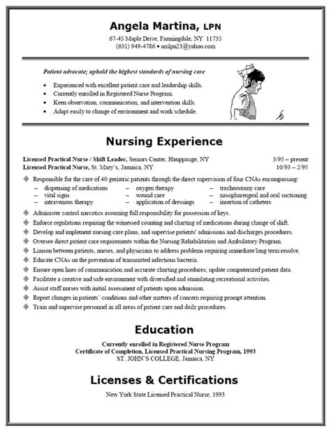 resume  lpn nurse resume  resume