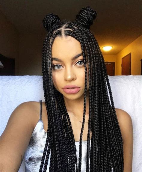 tresse africaine coiffure simple  facile