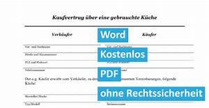Rechnung Bei Privatverkauf : gratis kaufvertrag ber gebrauchte einbauk che k che convictorius ~ Themetempest.com Abrechnung