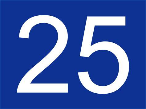 Filehauptstrasse 25 Numbersvg  Wikimedia Commons