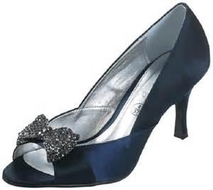 navy wedding shoes lexus z071 bow navy satin shoes wedding shoes by perdita 39 s