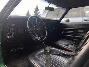 1st Gen Green 1968 Chevrolet Camaro Ss V8 Manual For Sale