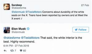 Elon Musk Recommends 6 Seats & White Vegan Leather ...