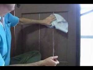 Wooden Door - Fixing Cracked & Broken Panels - Easy, Low