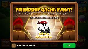 Line Rangers & Friends: Friendship Point Event - Macho Moon