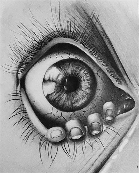 Eyeball in 2019 | Art drawings, Tattoo drawings, Art sketches
