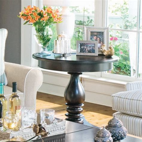 how to decorate end tables some simple tips for decorating round tables