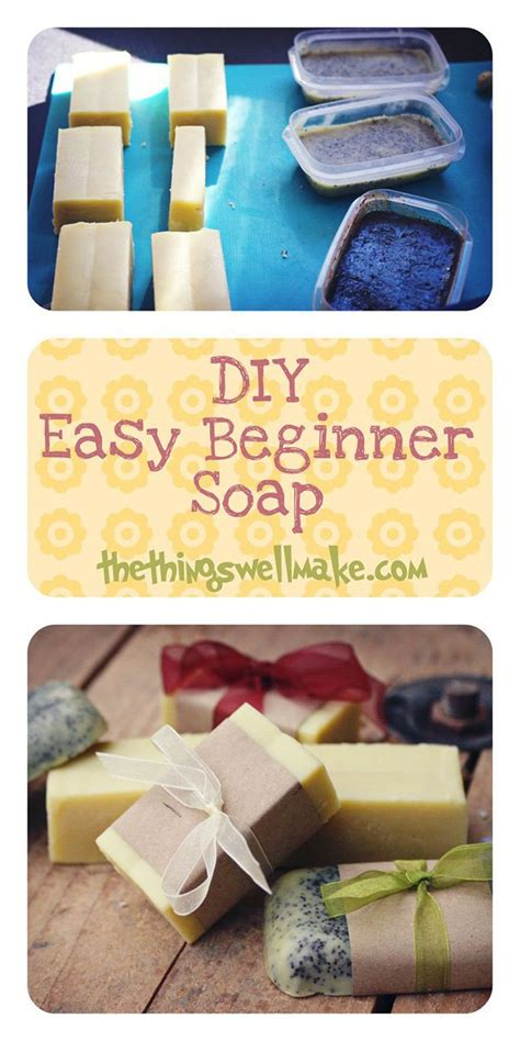 homemade soap diy tutorials