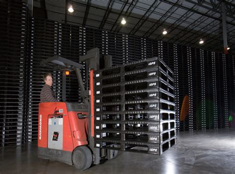 dairy supply chain   plastic pallets
