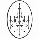 Candelabra Candelabro Template Coloring Chandelier Pages Templates sketch template