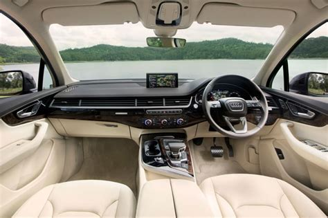 audi q7 interior torque audi q7 test drive