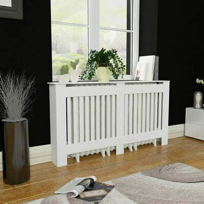 """Are there any uv lights or herbicidal bulbs installed in your equipment? 60"""" MDF Radiator Cover Heating Heater Cabinet Cupboard Modern Home Decor White 8718475938620 