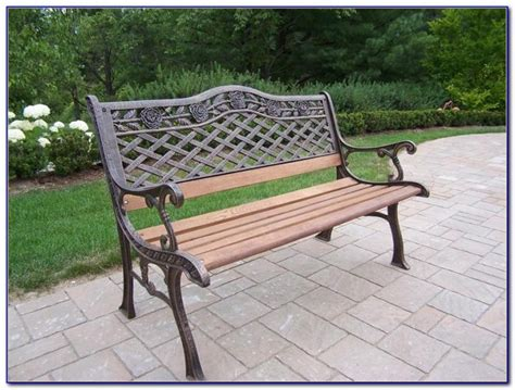gumtree cast iron garden benches bench home design
