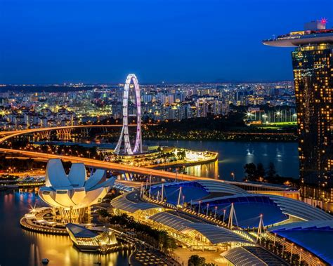 singapore skyline  wallpaperscom