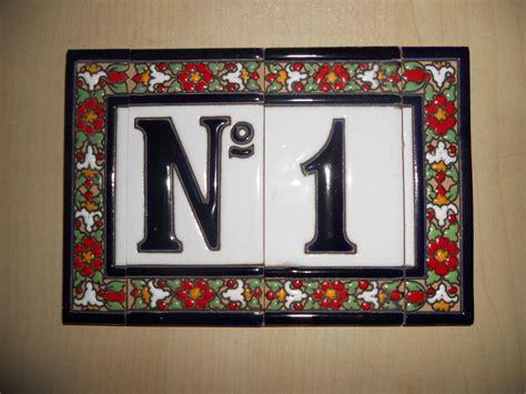 italian tile house numbers innovative tile house numbers